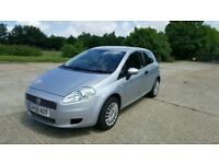 2009 Fiat Grande Punto Facelift 1.4 8v Active 3dr Excellent Condition Long MOT