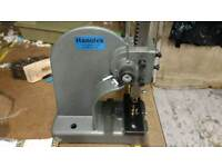 Hanolex eyelet machine with two sets dies and eyelets
