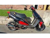 Malaguti Phantom 100 - 100cc Moped