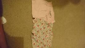 2 pairs girls shorts NEXT 3-6m