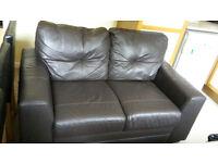 Good 2 Seater Leather Sofa