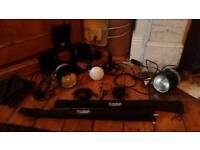 Porto flash studio lighting system