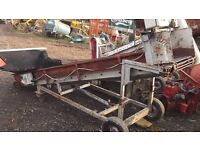 Potato Conveyer Unit £475 plus vat £570