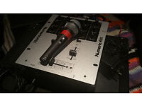 Numark M101 Mixer & Numark CDN22 [mk5] Pro CD Players in FlighCase
