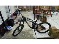 Mondraker downhill mountain bike