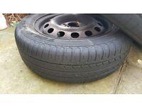 """14"""" steel wheels"""