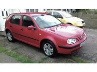 2003 VW GOLF MATCH 1.6 16V DRIVES GREAT SERVICE HISTORY