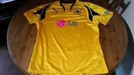 Genuine Football Shirts, all sizes.