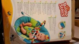 Bright stars vibrating bouncer