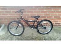 """Boys bike 20"""" wheels no gears. Suit age 7+ approx"""