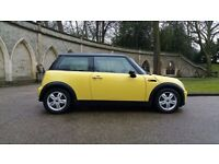 MINI Cooper 1.6 . Low worranted Milage