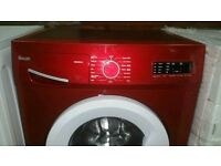 Swan Red 7.5 kg A+ Class 1400 spin washing machine in good condition