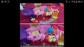 pink toot toot drivers garage