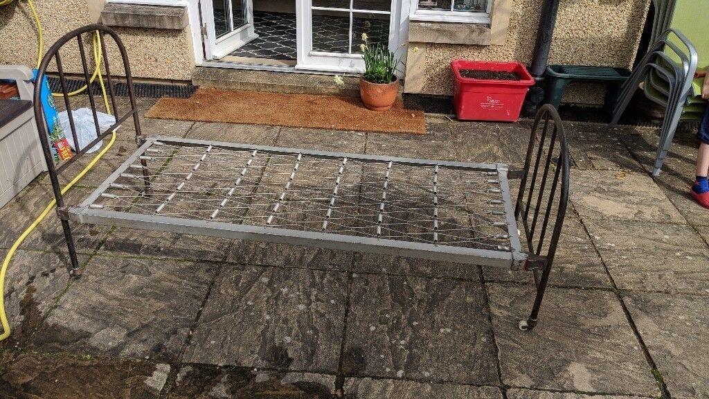 Old Metal Bed Frame 2ft 6in In Morningside Edinburgh Gumtree