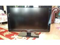 PHILIPS AMBILIGHT 32 INCH HD TV WITH STAND, MANUAL AND REMOTE IN GOOD CONDITION not SAMSUNG LG SONY