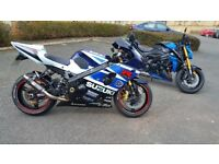 K3 GSXR 1000 LOOKING TO SWAP.