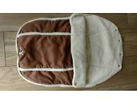 Wallaboo footmuff 0-12 months