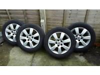 Vauxhall Vectra C Alloys+tyres