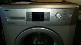Silver beko washer