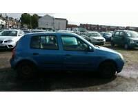 2001 RENAULT CLIO 5 DOOR 1.2 PETROL , , 1 YEAR MOT , , GOOD RUNNER , , CHEAP CAR