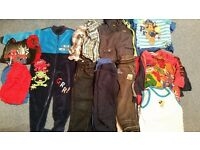 Bundle of boys clothes age 2-3 years.