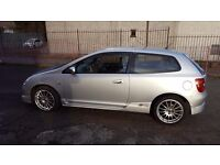 Honda Civic Type S - Full Service History, Very well maintained Example with lots of invoices