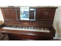 Piano ERARD upright - FREE - Good working order. Nice tone. Marks on wood see photos.