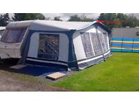 CARAVAN AWNING FOR SALE... SIZE 11, 900x925 (awning about 16-1/2 foot)