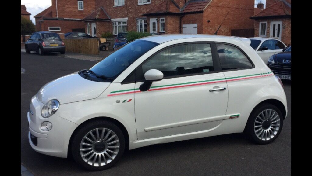 fiat 500 sport white italia edition 3dr in newcastle tyne and wear gumtree. Black Bedroom Furniture Sets. Home Design Ideas