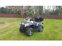 Quadzilla RS6 600cc 2013 Road Legal Quad Bike.