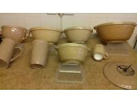 collection of baking bowls