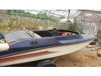 Jetboat / speedboat project Ford 2 litre Pinto engine
