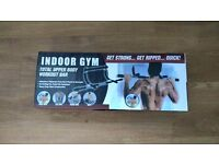 Pull up bar / indoor gym