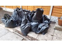 FREE good quality top soil - bagged up and ready to take