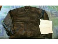 Genuine vintage leather jacket