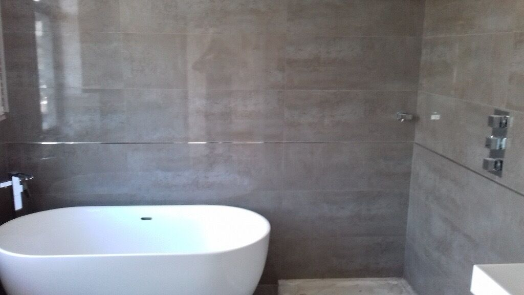 tiling bathroom and kitchen