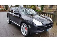 RARE 2005 PORSCHE CAYENNE 4.5 TURBO PANROOF FULL MAIN DEALER SERVICE HISTORY 2 KEYS LOTS OF INVOICES