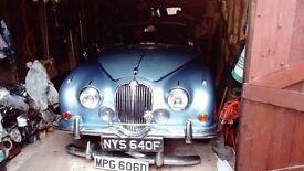 jaguar 3.4/340 historic car