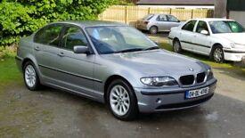 x2 South reg cars BMW 316i and a Mondeo 1.8