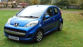 GREAT CONDITION!! Peugeot 107 5dr. ONLY £20 TAX!!