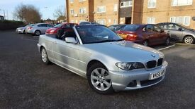 Immaculate 2005 BMW 320cd Convertible, One lady owner, full service history, diesel, 1 year MOT