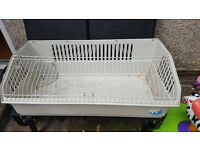 rabbit cage guinea pig hutch