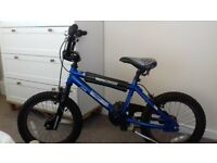 A Mongoose Motormicra BMX 16'' bike, in good condition