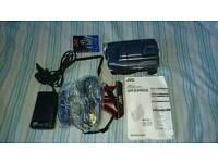 JVC GR SXM26 COMPACT VHS CAMCORDER