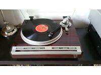 Elite PIONEER PL-707 Turntable Record Player + Original Pioneer Manual - RARE RECORD DECK