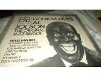 Al Jolson vinyl album