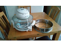 jml halogen oven and extension ring with stand