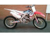 2013 CRF450R MX MOTOCROSS POSS PX SMALLER BIKE