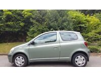TOYOTA YARIS AUTOMATIC, 1.0 LITRE, 54 REG, 85K MILES, FSH, HPI CLEAR, MOT, DELIVERY AVAILABLE