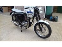 Triumph 350 Twin 1961, Matching engine and frame numbrs